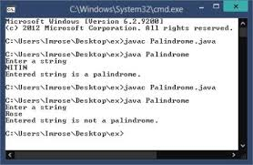 A given number is said to be a palindrome number if that number is the same after reverse. Palindrome Program In Java With Examples Code Creator Programs