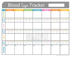 Blood Sugar Levels Tracking Chart Best Picture Of Chart