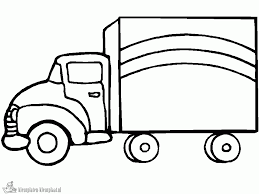 Kleurplaten Vrachtwagen Kleurplaten Kleurplaatnl
