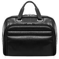 springfield leather fly friendly laptop briefcase image 1 of zoomed image