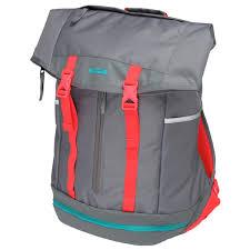 lebron ambassador backpack. nike lebron james ambassador backpack - charcoal/red lebron k