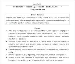 Resume Career Objective Statements Objective On A Resume General