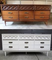 painted mid century furnitureMidcentury Modern Dresser Redo  Hometalk