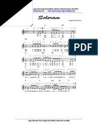 Untuk anda yang sudah bisa bermain pianika dan sedang mencari not angka lagu soleram , berikut kami berikan notasinya. Soleram Na Nb Dok Tunas63