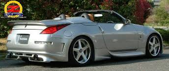 nissan 350z convertible with spoiler. click image for larger version name 350zver2openrwrearanglejpg views 6003 size 254 nissan 350z convertible with spoiler