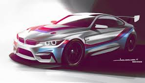 Bmw M4 Design 1280x800 Bmw M4 Gt4 2018 Design 720p Hd 4k Wallpapers