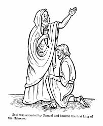 Small Picture Saul Bible Story Coloring Page Church Sunday School Pinterest