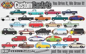 Custom Art T-Shirt for 1941 1946 1947 Ford Pickup Truck – Custom Car ...