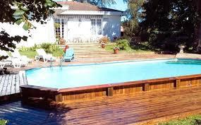 semi inground pool ideas. Inground Pool Designs Semi For Sloped Yards Ideas I