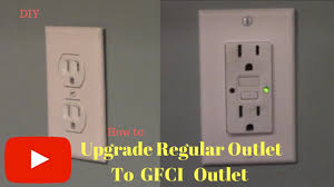 Gfci Outlet Green Light Removing And Replacing Regular Outlet With Gfci Outlet