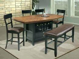 Dining Set With Wine Rack Dining Table With Wine Rack Unique Room