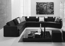 Black And White Room Decor Pleasing Black And White Living Room