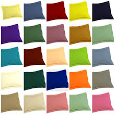 green pillow shams. Simple Pillow Euro Pillow Sham Solid Color Orange Green Black Brown Tan Purple With Green Shams I