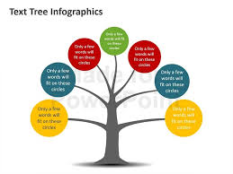 tree diagram powerpoint tree diagram infographic editable powerpoint template