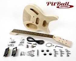 pit bull guitars rc 1 electric guitar kit