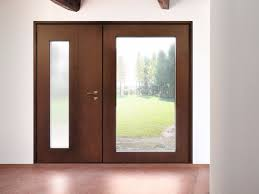 wood and glass safety door superior 16 5083 m16 by bauxt