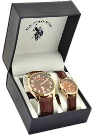 33 best images about u s polo assn watches polos u s polo assn men s and women s classic usc2244 brown leather strap watch set
