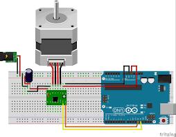 testing a4988 nema17 arduino