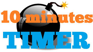 a 10 minute timer 10 minutes countdown timer alarm clock youtube