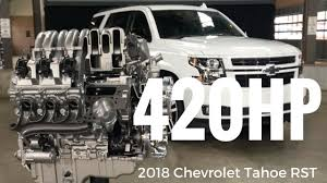 2018 chevrolet rst tahoe. delighful tahoe 2018 chevrolet tahoe rst special edition presentation by chief engineer  eric stanczak intended chevrolet rst tahoe k