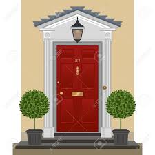 Clipart House Door Open Pencil And In Color Lemonize