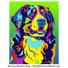dog portraits bernese mountain dog art dog paintings and dog portraits by michael vistia
