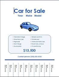 Selling Flyers Free Car For Sale Flyer Templates Free Online Flyers