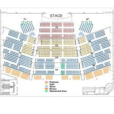 Interpretive Sands Casino Concert Seating Chart Sands
