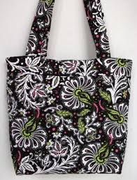 Tote Bags Collection - Maur Designs & Quilted,Black,Floral,Tote,Bag,Quilted Tote Bag Adamdwight.com