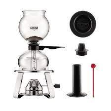 Sunbeam vacuum percolator coffee pot part base bottom cord c30a c30b tested #e. Bodum Pebo Vacuum Coffee Maker