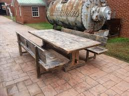 rustic wood patio furniture.  Wood Alternative Teak Outdoor Furniture Carly Home Decorations Awesome Rustic  Wood Patio Table Tables Throughout