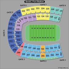 Ford Stadium Seating Chart Memphis Tigers At Smu Mustangs Football At Gerald Ford