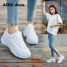 <b>New 2018 Spring Fashion</b> Women Casual Shoes Suede Leather ...