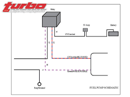 electric fuel pump wiring diagram wiring diagram and schematic how do i wirer in a electric fuel pump have installed it