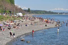 White Rock Beach Tide Chart White Rock Beach West Swim Guide