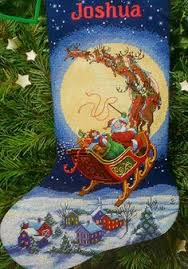 Cross Stitch Stocking Patterns Extraordinary Gold Collection Christmas Eve Fun Stocking Cross Stitch World