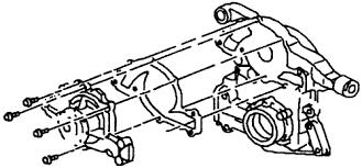 1975 volvo 244gl 2 0l fi ohv 4cyl repair guides water pump fig