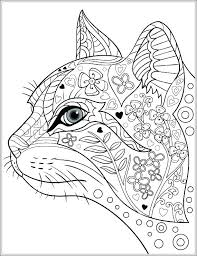Cat Coloring Pages Adults Dog And Cat Colori Pages Printable Dogs