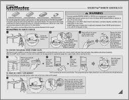 liftmaster 1 2 hp chain drive manual awesome sears craftsman remote garage door opener manual fresh