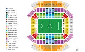 Campus World Stadium Seating Chart Camping World Stadium Map Fresh Design Camping World Stadium