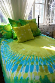 tie dyed king duvet cover by dyeworx on