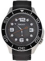dkny ny1364 mens divers watch black rubber strap brand new dkny mens watch ny1364