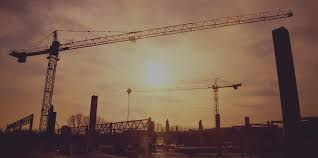 graduate career sectors professions and industries targetjobs cranes over large construction site