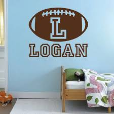 10 college football wall decals football decals for walls plus personalize football monogram wall decal zoom
