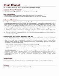 Data Entry Clerk Resume Special Resume For Payroll Clerk Payroll