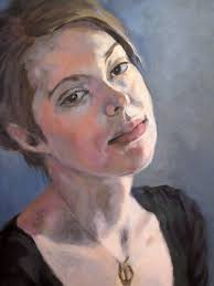 custom portrait oil painting acrylic painting 12 x 16 inches portrait painting of woman man or child