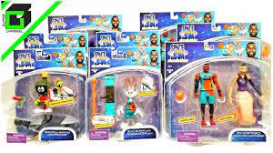 SPACE JAM A New Legacy (Complete Set) action figures by Moose Toys LEBRON,  BUGS BUNNY, LOLA, TAZ - YouTube