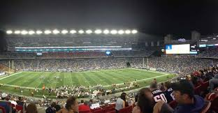 New England Patriots Seating Guide Gillette Stadium