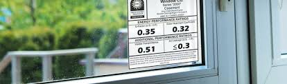 Window Brand Comparison Chart Energy Performance Label National Fenestration Rating Council