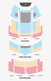 Rosemont Theatre Seating Chart With Seat Numbers Majestic Theatre Seating Chart Majestic Theatre Seating